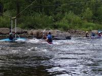 July slalom training